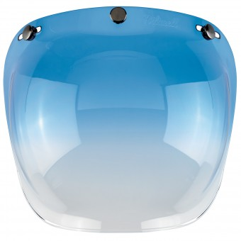 Visera Biltwell Bubble Shield Gradient Blue