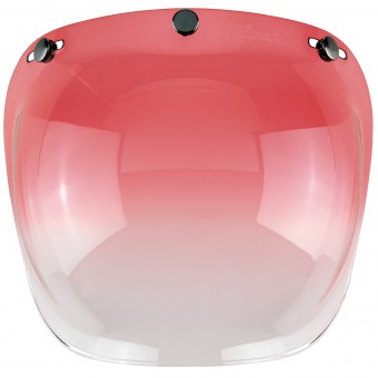 Visera Biltwell Bubble Shield Gradient Red