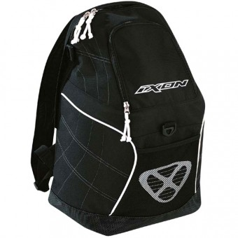 Mochila Moto Ixon X-On Negro Blanco