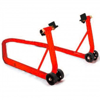 Caballete moto MAD Paddock Stand Posterior Big Red