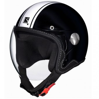 Casque Infantil Laura Smith Junior Negro Mate