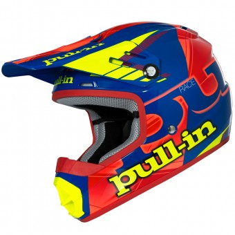 Casque Infantil pull-in Pull-in Blue Neon Orange Yellow Niño