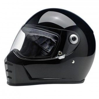 Casque Integral Biltwell Splitter Gloss Black