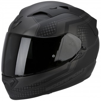 Casque Integral Scorpion Exo 1200 Air Alias Matt Black Silver