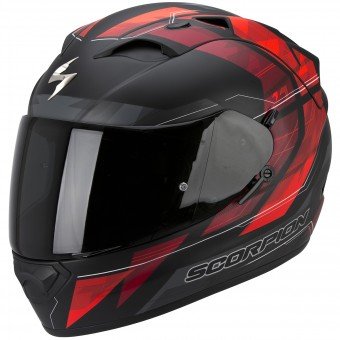 Casque Integral Scorpion Exo 1200 Air Hornet Matt Neon Red