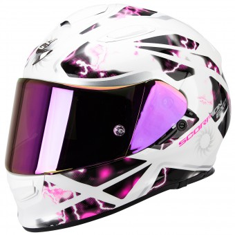 Casque Integral Scorpion Exo 510 Air Xena Pearl White Pink