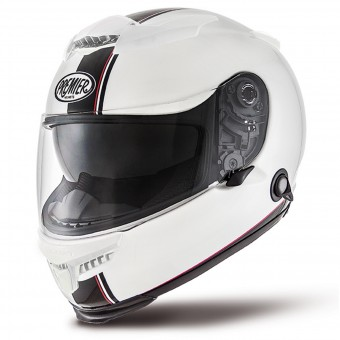 Casque Integral Premier Touran DS0 Blanco Negro