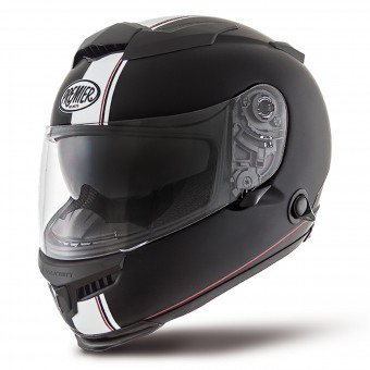 Casque Integral Premier Touran DS9 Negro Opaco Blanco