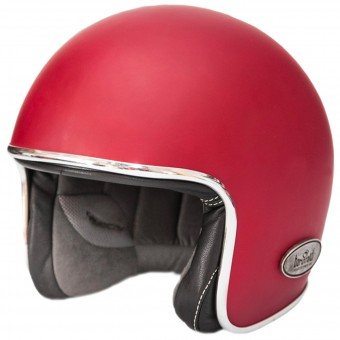 Casque jet Baruffaldi Zar Vintage 2.0 Red Black