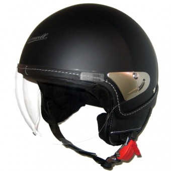 Casque jet Cromwell Meteor Legend Negro Mate