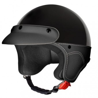 Casque jet Laura Smith Elegance Negro