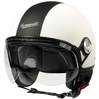 Casque jet Cromwell F16 Blanco Mate