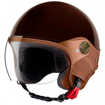 Casque jet Laura Smith Trendy Vision Tabaco