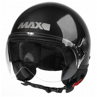 Casque jet MAX Power Design Negro