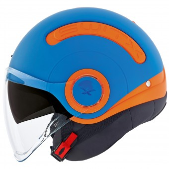 Casque jet Nexx SX.10 Fun Collection Azul Mate