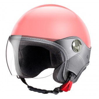 Casque jet Laura Smith Trendy Vision Rosa