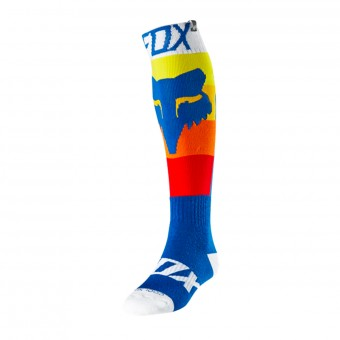 Calcetines Motocross FOX Coolmax Thin Draftr Blue