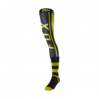 Calcetines Motocross FOX Knee Brace - Preest Dark Yellow