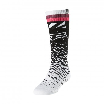 Calcetines Motocross FOX Womens MX Black Pink
