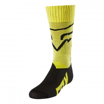 Calcetines Motocross FOX Youth MX Niño Yellow 005