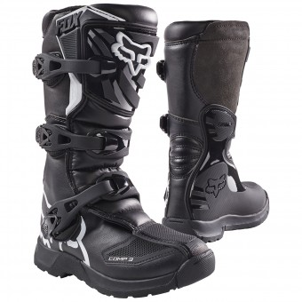 Botas Motocross FOX Comp 3Y Black Niño 001