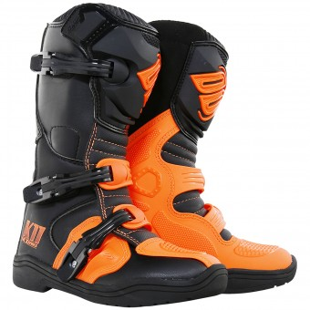 Botas Motocross SHOT K11 Neon Orange Niño