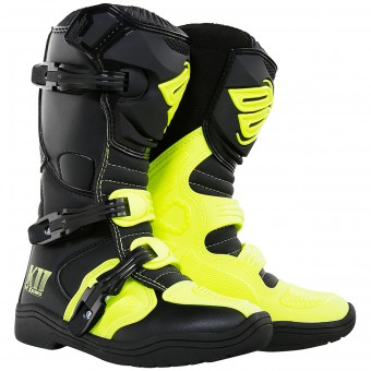 Botas Motocross SHOT K11 Neon Yellow Niño