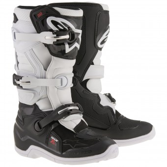 Botas Motocross Alpinestars TECH 7 S Black White Niño