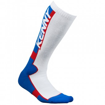 Calcetines Motocross Kenny MX Tech Blue White Red