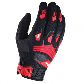 Guantes motocross Thor Deflector Black Red