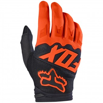 Guantes motocross FOX Dirtpaw Orange Niño 009
