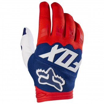 Guantes motocross FOX Dirtpaw Race Red White 054