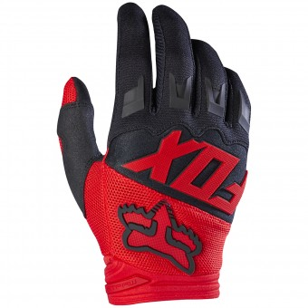 Guantes motocross FOX Dirtpaw Red Niño 003