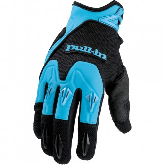 Guantes motocross pull-in Pro Blue