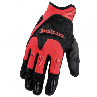 Guantes motocross pull-in Pro Red