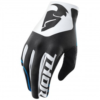 Guantes motocross Thor Void Bend Black