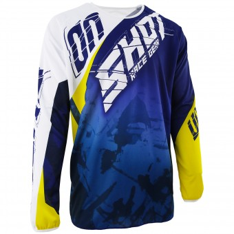 Camiseta Motocross SHOT Devo Squad Blue Yellow