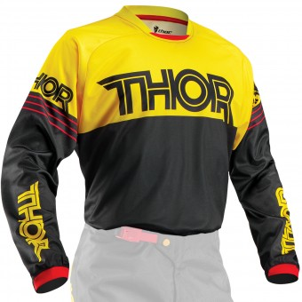Camiseta Motocross Thor Phase Hyperion Yellow Niño
