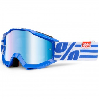 Gafas motocross 100% Accuri Nimitz Junior Mirror Blue Lens