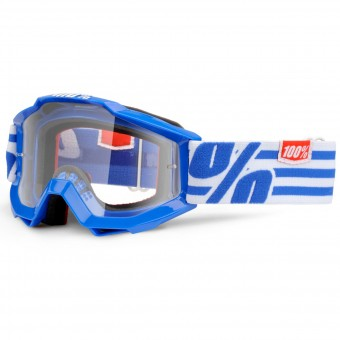 Gafas motocross 100% Accuri Nimitz Junior Mirror Clear Lens