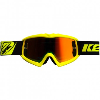 Gafas motocross Kenny Performance Neon Yellow Kid