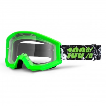 Gafas motocross 100% Strata Crafty Lime
