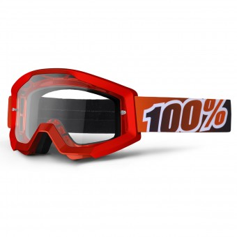 Gafas motocross 100% Strata Fire Red