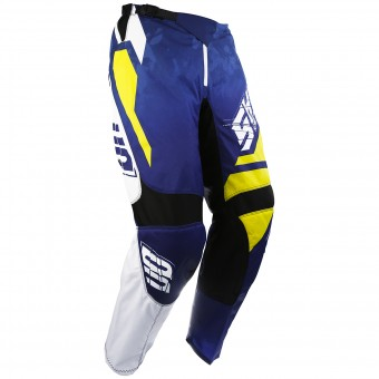 Pantalón motocross SHOT Devo Squad Blue Yellow Pant