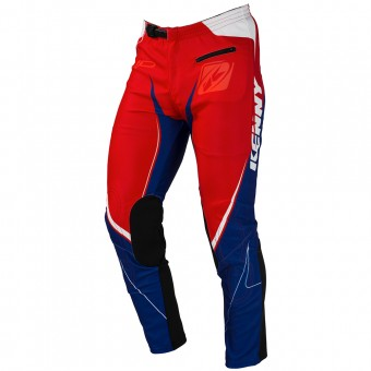 Pantalón motocross Kenny Trial Up Blue White Red Pant