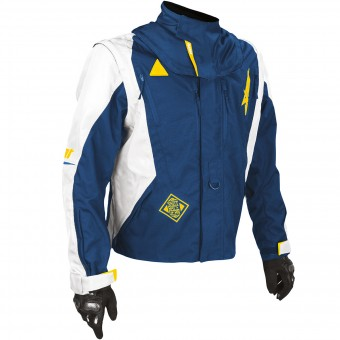Chaqueta Motocross SHOT Flexor Advance Blue Yellow