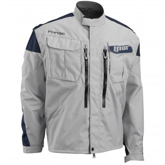 Chaqueta Motocross Thor Phase Jacket Cement Navy
