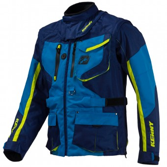 Chaqueta Motocross Kenny Titanium Enduro Blue Jacket