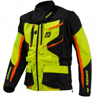 Chaqueta Motocross Kenny Titanium Enduro Neon Yellow Jacket