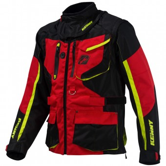 Chaqueta Motocross Kenny Titanium Enduro Red Jacket